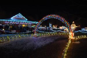 photo story book island christmas lights Rapid City SD