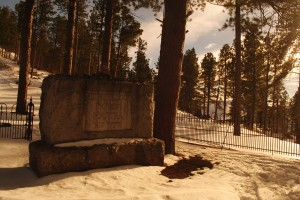 Seth Bullock grave Deadwood SD