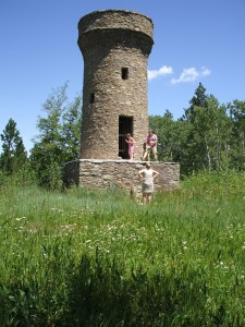 friendship tower, mount roosevelt, the black hills national forest