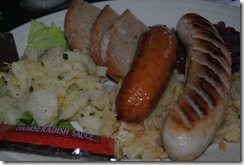 photo of german food at the Alpine Inn Hill City SD