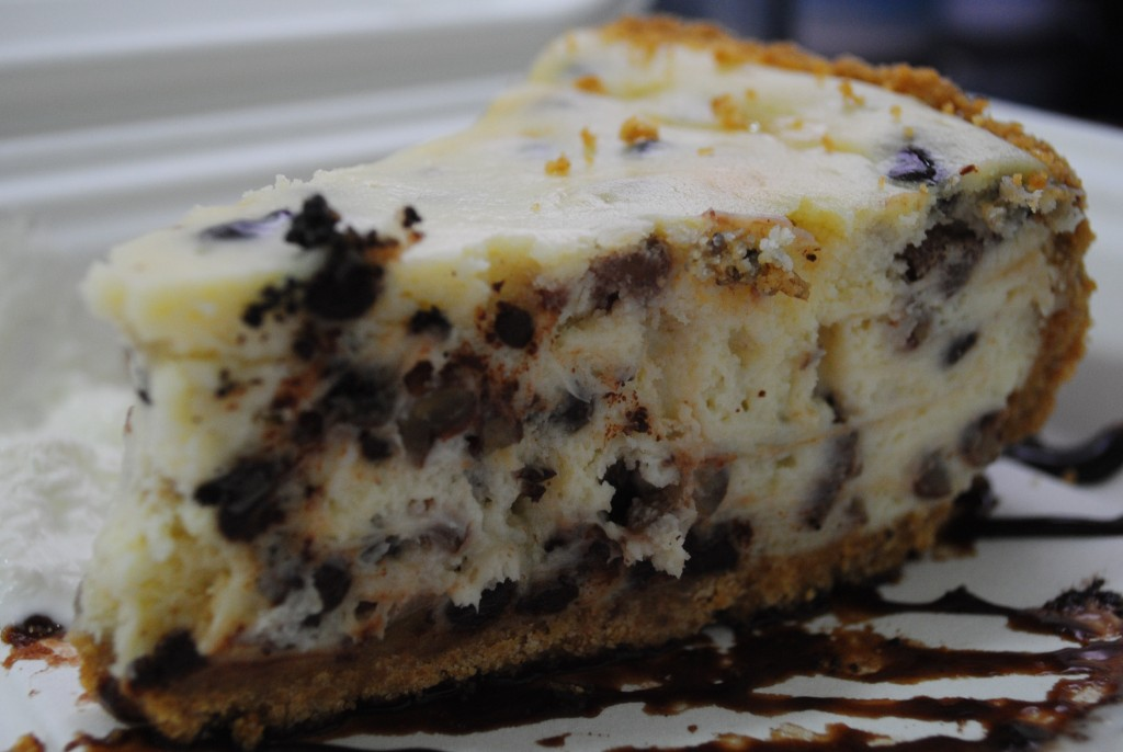 photo of cheesecake from the Social Club in Deadwood SD