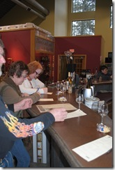 phots wine tasting at Prairie Berry Winery