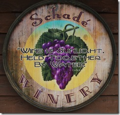Schade winery Deadwood