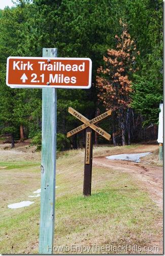 image Sugarloaf Trailhead George S Mickelson Trail in the Black Hills of South Dakota
