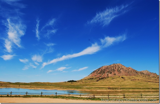image of Bear Butte and Bear Butte Lake