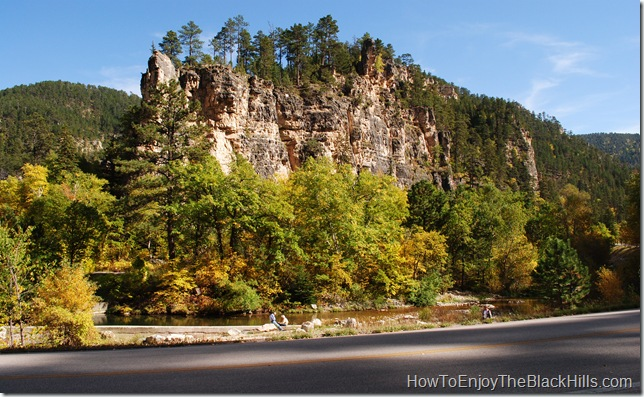 image spearfish canyon in the black hills of south dakota
