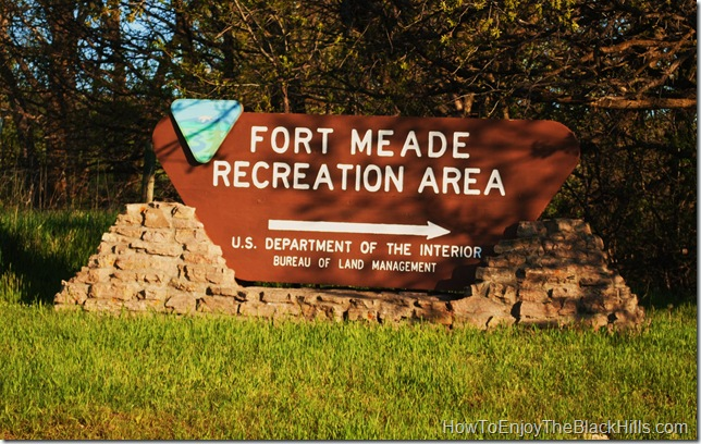 image entrance to the Fort Mead Recreation Area