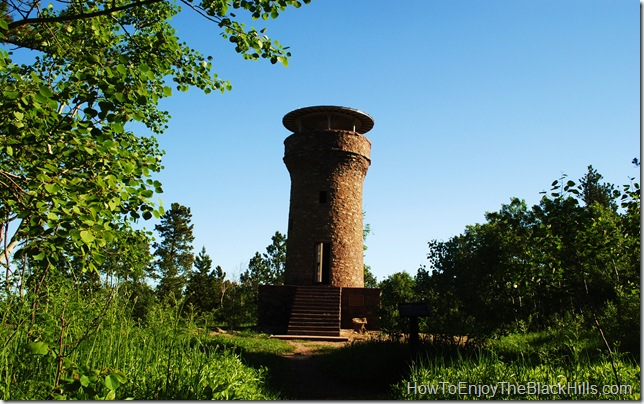 image friendship tower Mount Roosevelt Black Hills National Forest South Dakota