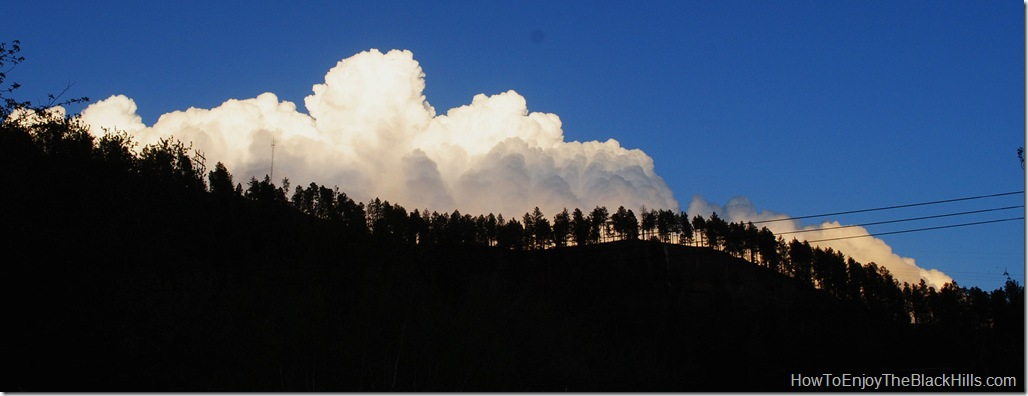 image clouds in Deadwood SD