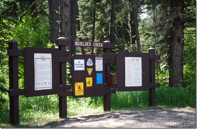 photo Boxelder Creek Trailhead Centennial Trail South Dakota