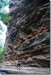 image limestone walls Devil's Bathtub Spearfish Canyon