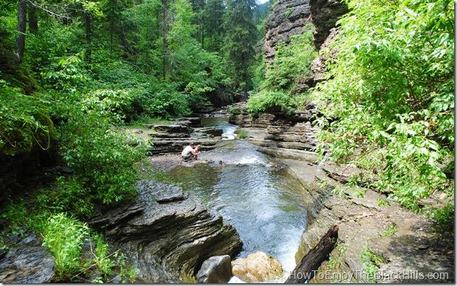 image Devil's Bathtub Spearfish Canyon South Dakota