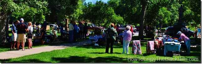 photo Spearfish Market in the park