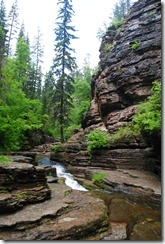 photo Devils Bathtub Spearfish Canyon