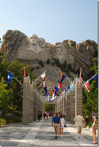 image Mount Rushmore in the Black Hills of South Dakota