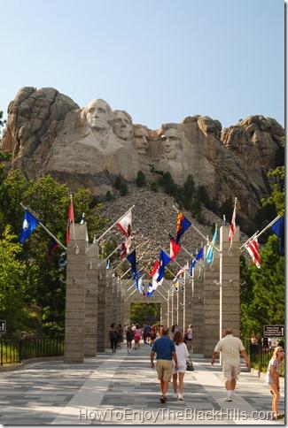 image Mount Rushmore in the Black Hills of South Dakota