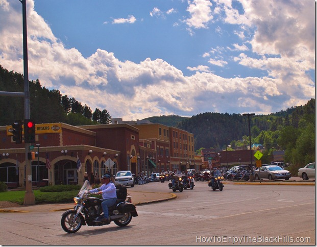 photo motorcycles in Deadwood SD