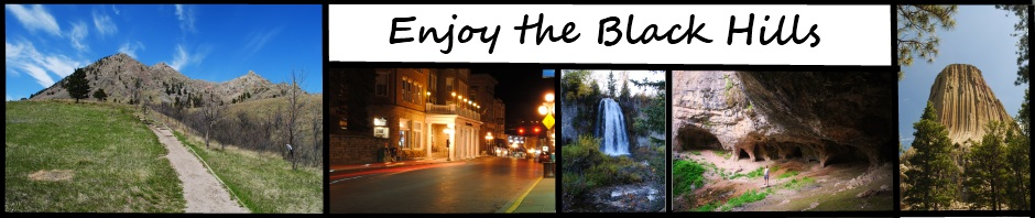 Enjoy the Black Hills header image