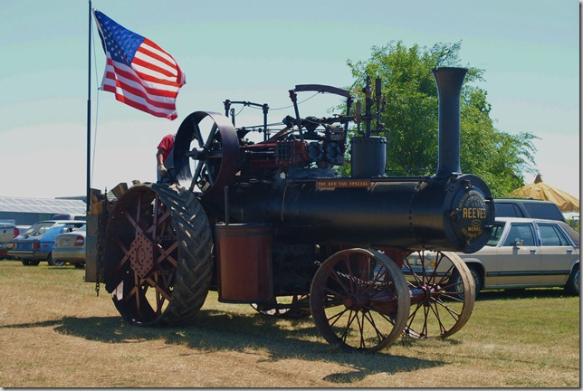 See some old iron in action at the Black Hills Steam and Gas Threshing Bee near Sturgis SD