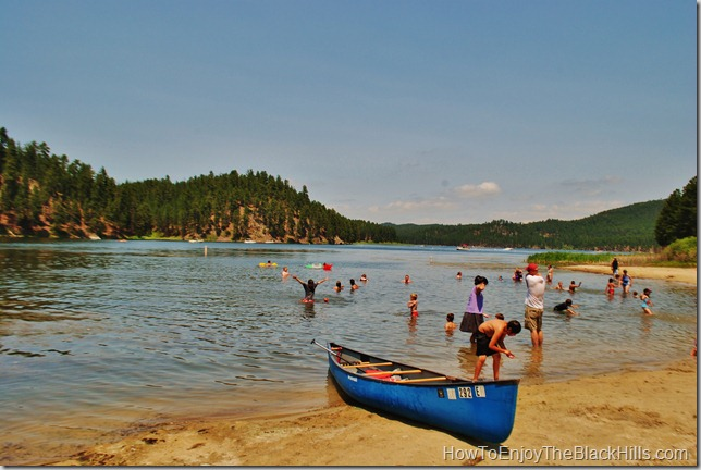 Sheridan Lake in the Black Hills of South Dakota