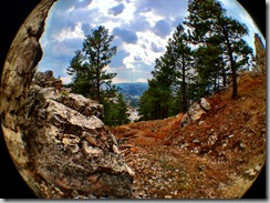 photo of the south dakota black hills near Deadwood