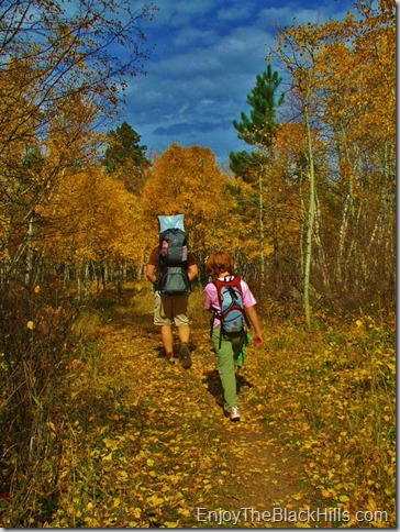 best fall hikes in the black hills