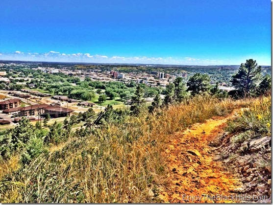 best hiking, trail running and mountain biking in rapid city sd